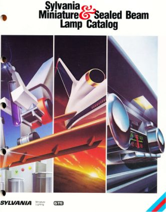 Catalogo de lamparas miniatura de Sylvania del año 1984 en USA. Ingles. Tamaño 140Mb