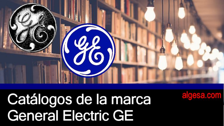 Catalogos de lamparas del fabricante General electric GE