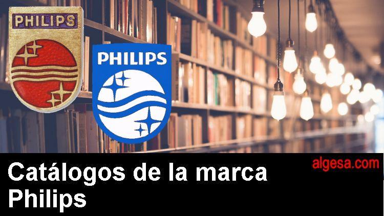 Catalogos de bombillas del fabricante mundial Philips